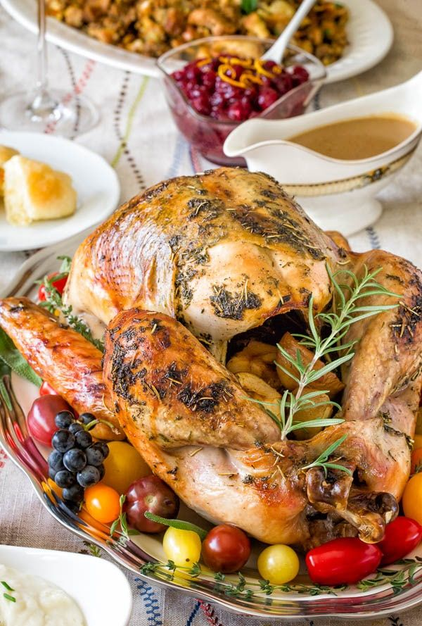 Photo of Super Juicy No Brine Roast Turkey + Video ~Sweet & Savory by Shinee