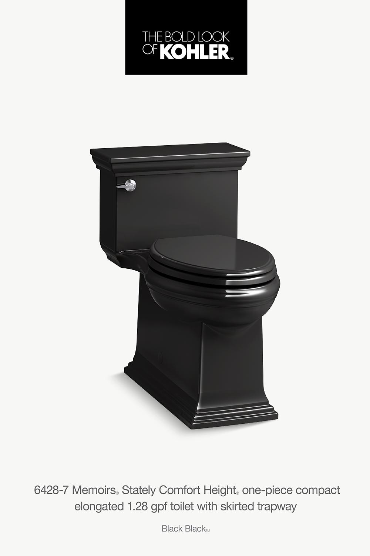K 6428 Memoirs Stately Skirted 1 28 Gpf Toilet Kohler In 2020 Custom Bathroom Kohler Bathroom Styling