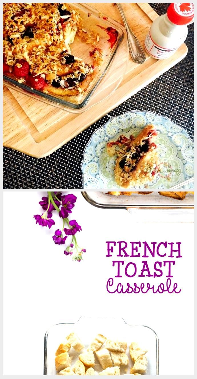Photo of French Toast Casserole – Kitchen Therapy