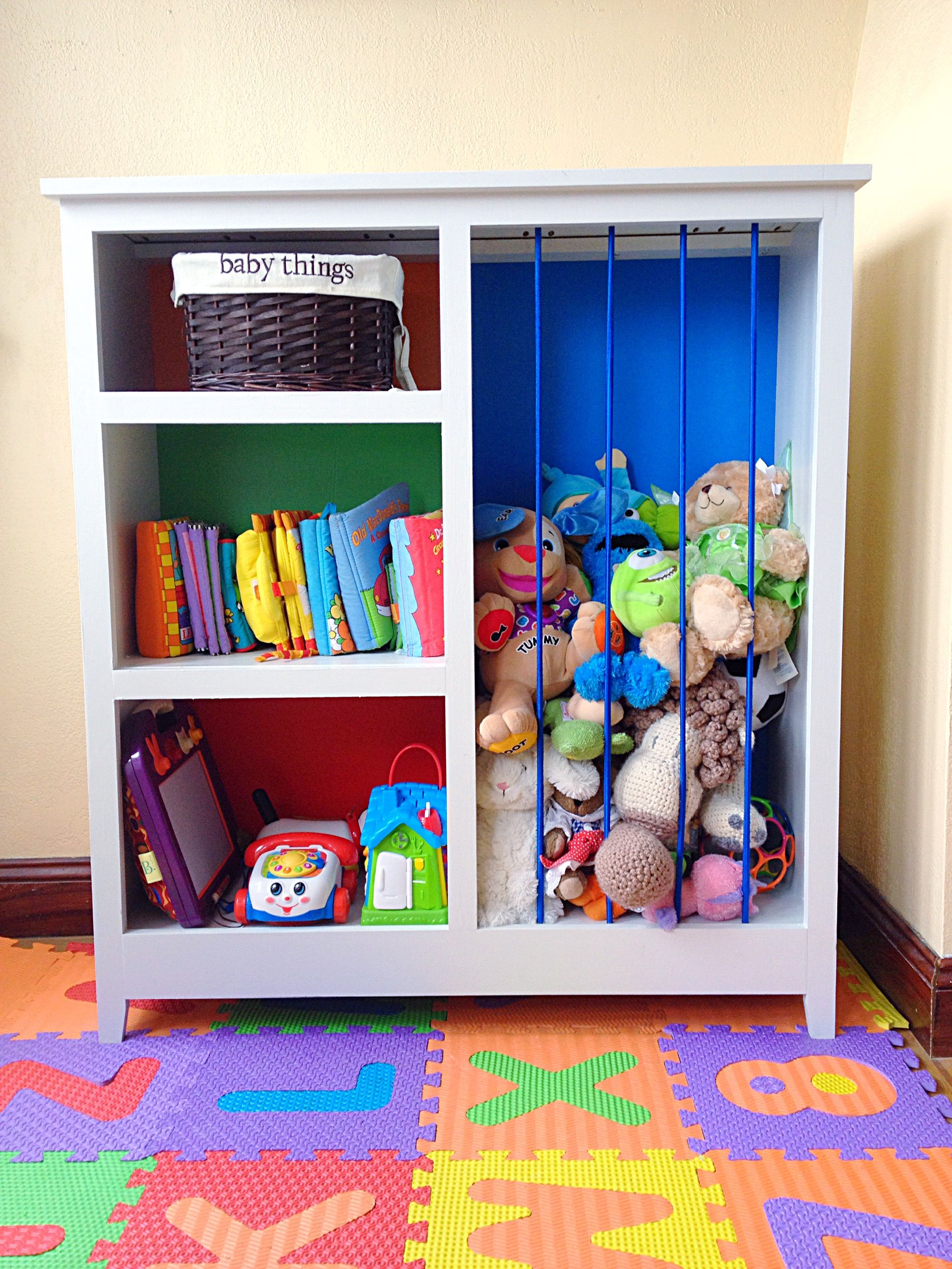 Repurposed Bookshelf Ideas | Re purposed bookshelves | Playroom ...