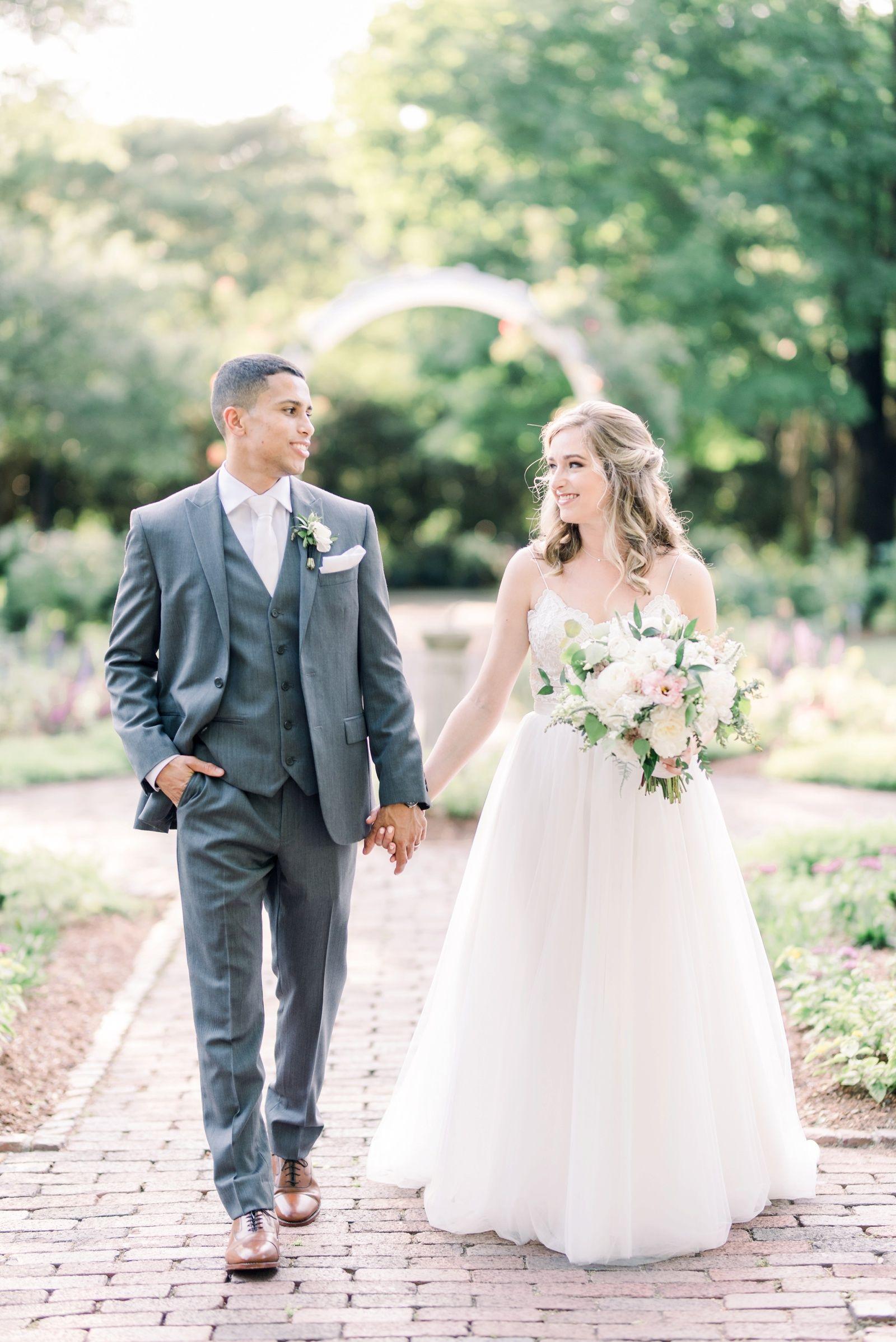 Wedding dresses richmond va  Lewis Ginter Gardens RVA Wedding in   ARP Weddings  Bride