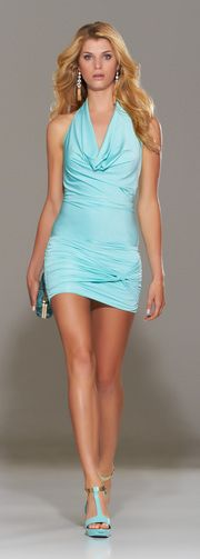 This would be nice for a wedding if you are a bit daring! Cute for night, but day might be best?