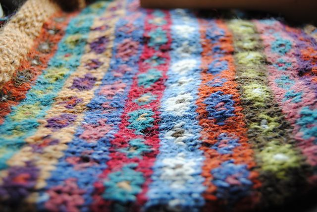 Ravelry: Odorono's Russian Doll Scarf   Knitting designs ...