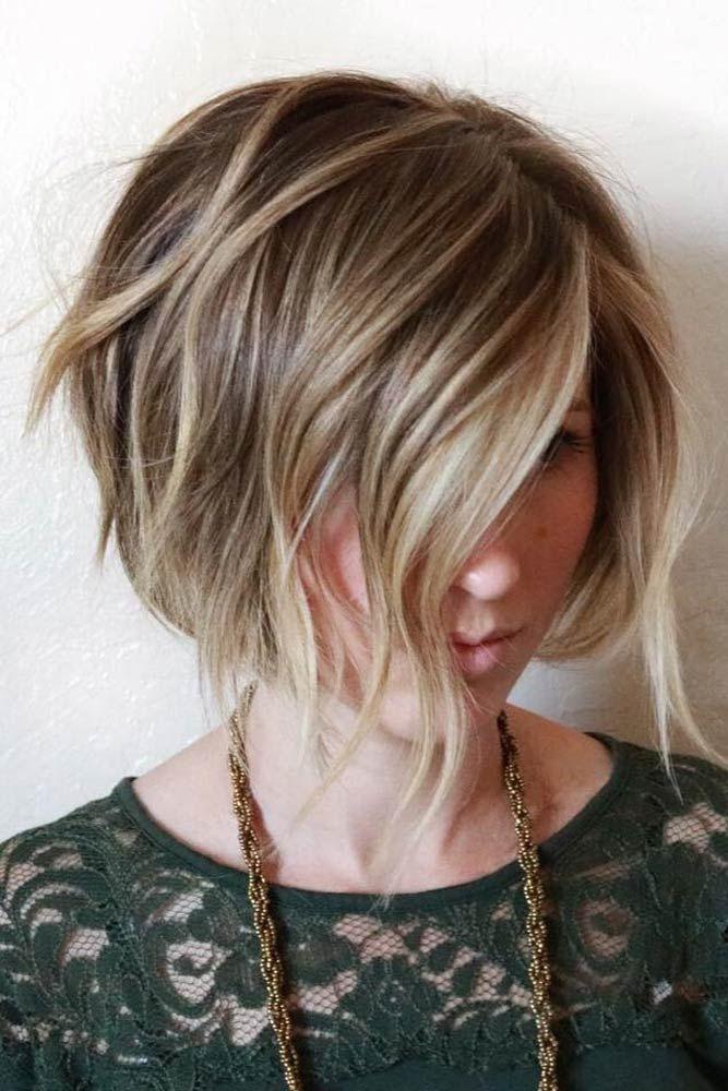 24 Messy Bob Hairstyles for You | Messy bob hairstyles, Bob ...
