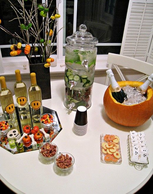 Have a Haunted Mansion Party Adult Halloween Party Ideas - adult halloween party decor