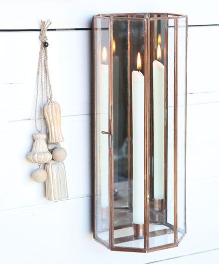 Mirrored Wall Sconce For Tapered Candles Mirrored Wall Sconce Mirror Candle Sconce Sconces