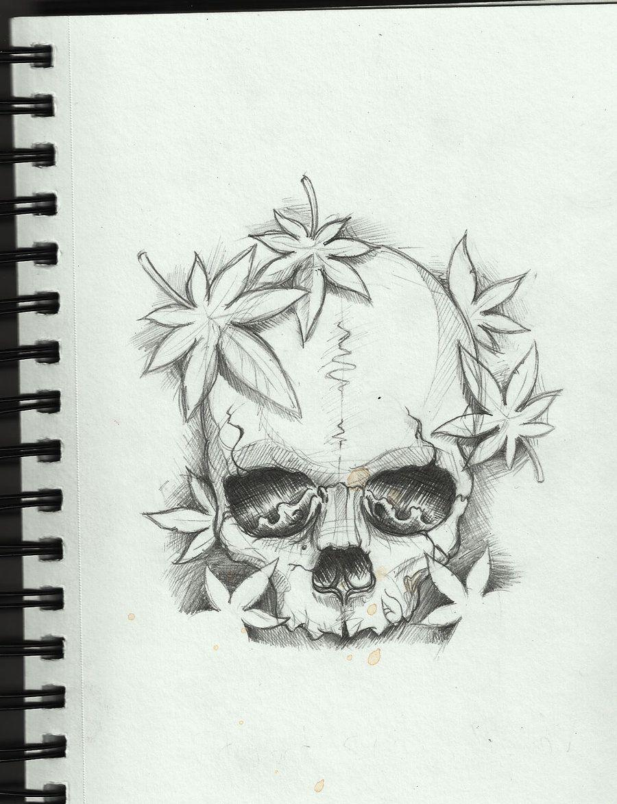 Simple skull tattoo designs - Skull Tattoo Design By Frosttattoo On Deviantart