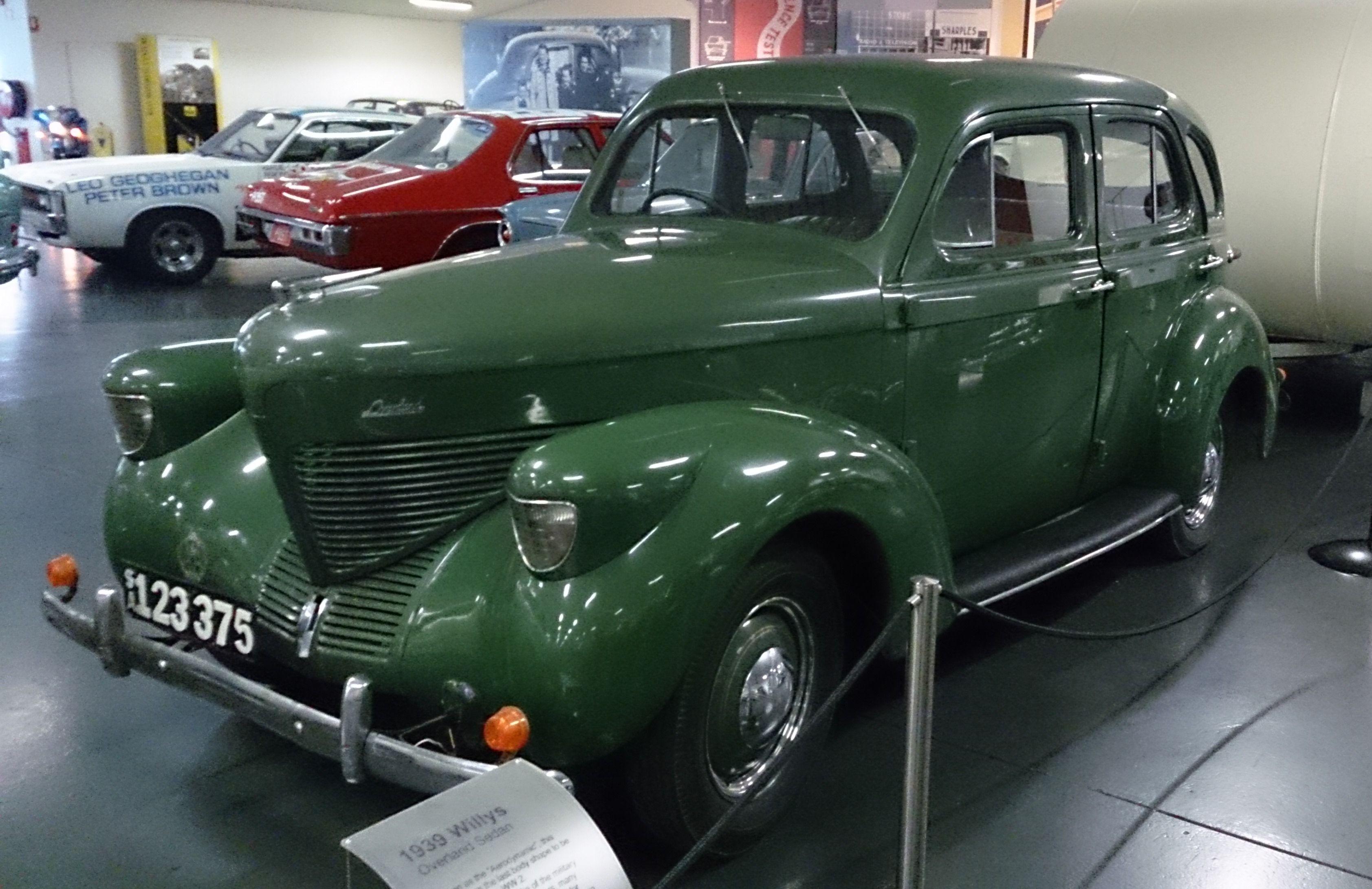 Willys Overland 4 Door Sedan Model 39 1939 This Example Has A