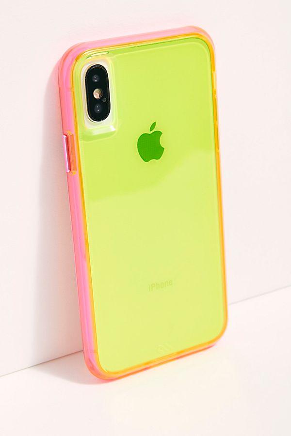 Tough Neon iPhone Case