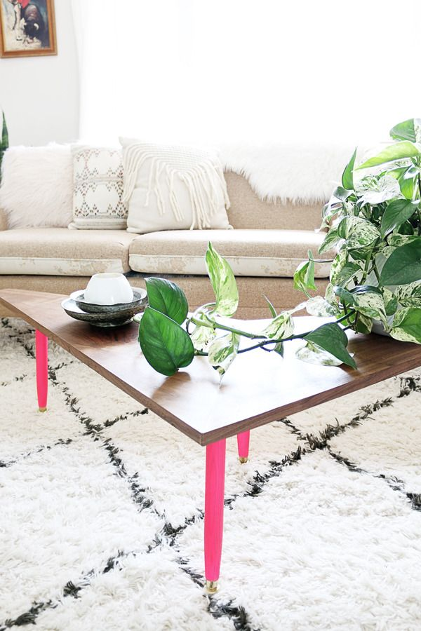 Attractive Make It: DIY Mid Century Boomerang Coffee Table | Mid Century, Furniture  Projects And Living Rooms