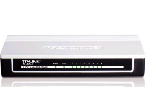 TP-LINK TL-R860 Advanced 8-Port Cable/DSL Router, 1 WAN Port, 8 LAN Ports - http://www.best-product-buys.com/computer-reviews/tp-link-tl-r860-advanced-8-port-cabledsl-router-1-wan-port-8-lan-ports