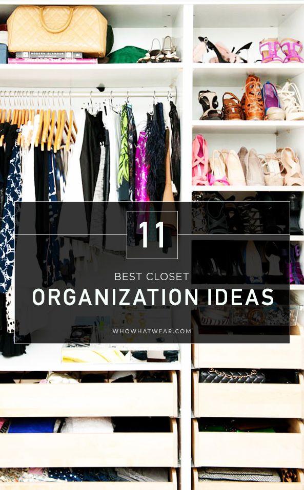 11 Closet Organization Ideas From Pinterest Best Closet
