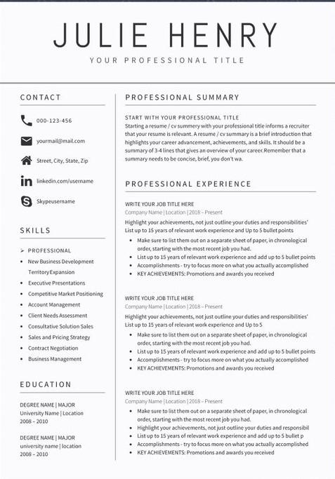 Sample Teacher Resume 2020 Summary For Resume
