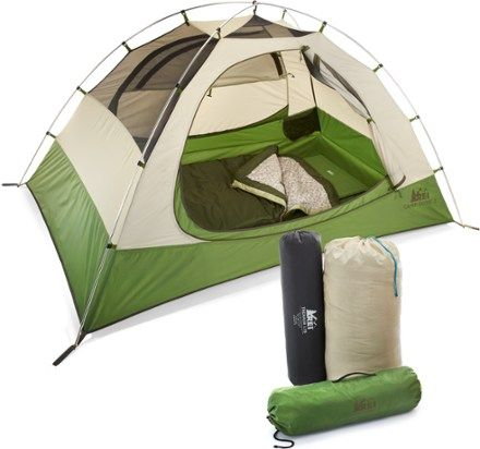 You and the entire gang can grow as a family by experiencing a c&ing trip together. Choose a tent.  sc 1 st  Pinterest & REI Camp Bundle - REI.com | Outdoors Camping and Survival ...