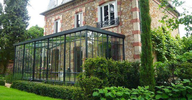 Deux v randas pour agrandir une maison de famille maison for Extension maison meuliere
