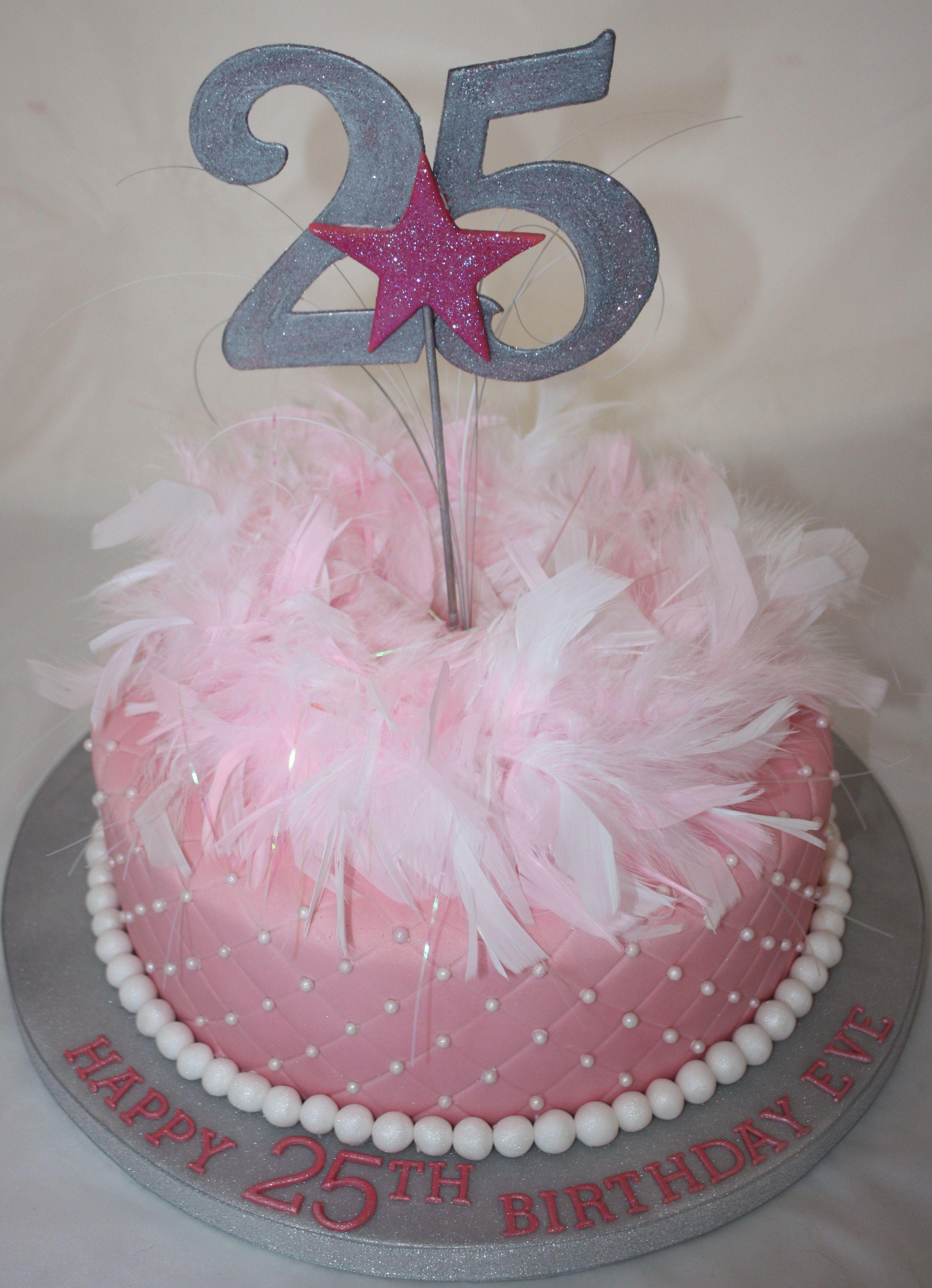 Birthday Cakes 25th Birthday Cake Vanilla Bean Cake Company