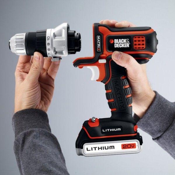 Black Decker Modular Power Tool Petagadget Black Decker Tools Drill