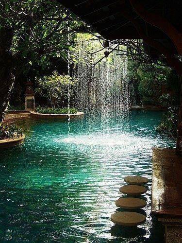 Pool bar at Sawasdee Village Hotel, Phuket, Thailand