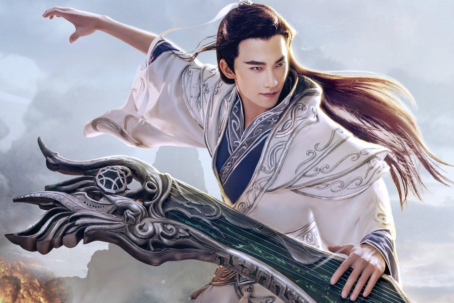 倩女幽魂手游_看图_杨洋吧_百度贴吧 Handsome, Chinese actress, Yang yang