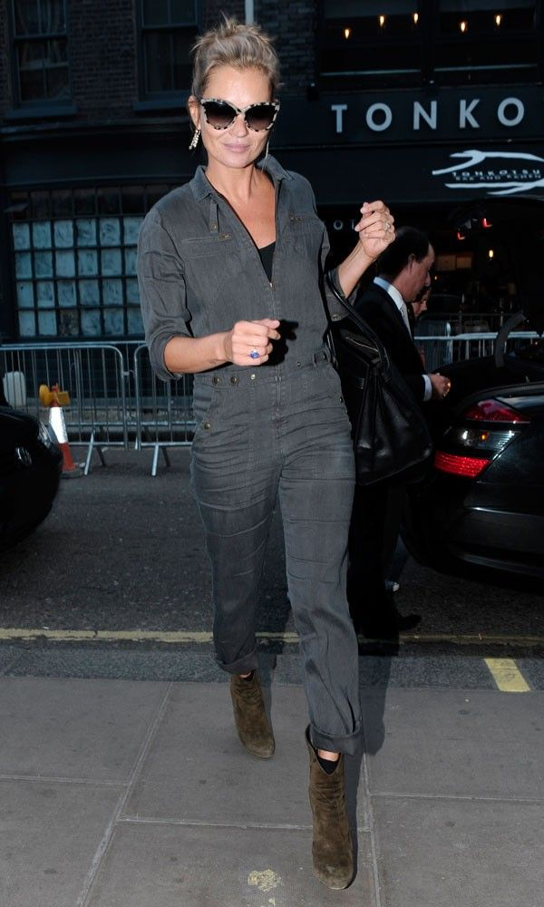Kate Moss wearing Prism Portofino sunglasses in London