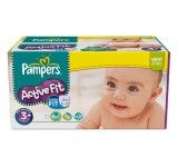 Pampers - Active Fit Couches Taille 3 + Midi + (5-10 kg) x 320 couches degriffcouches pas cher