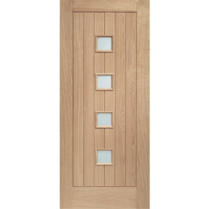 External Oak Double Glazed Siena Door - 813mm Wide at Homebase -- Be inspired and  sc 1 st  Pinterest & External Oak Double Glazed Siena Door - 813mm Wide at Homebase -- Be ...