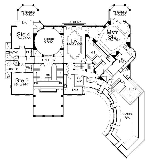 Pin By Dave Burrow On Blueprints Dream Homes House Plans Mansion Architectural Design House Plans House Floor Plans