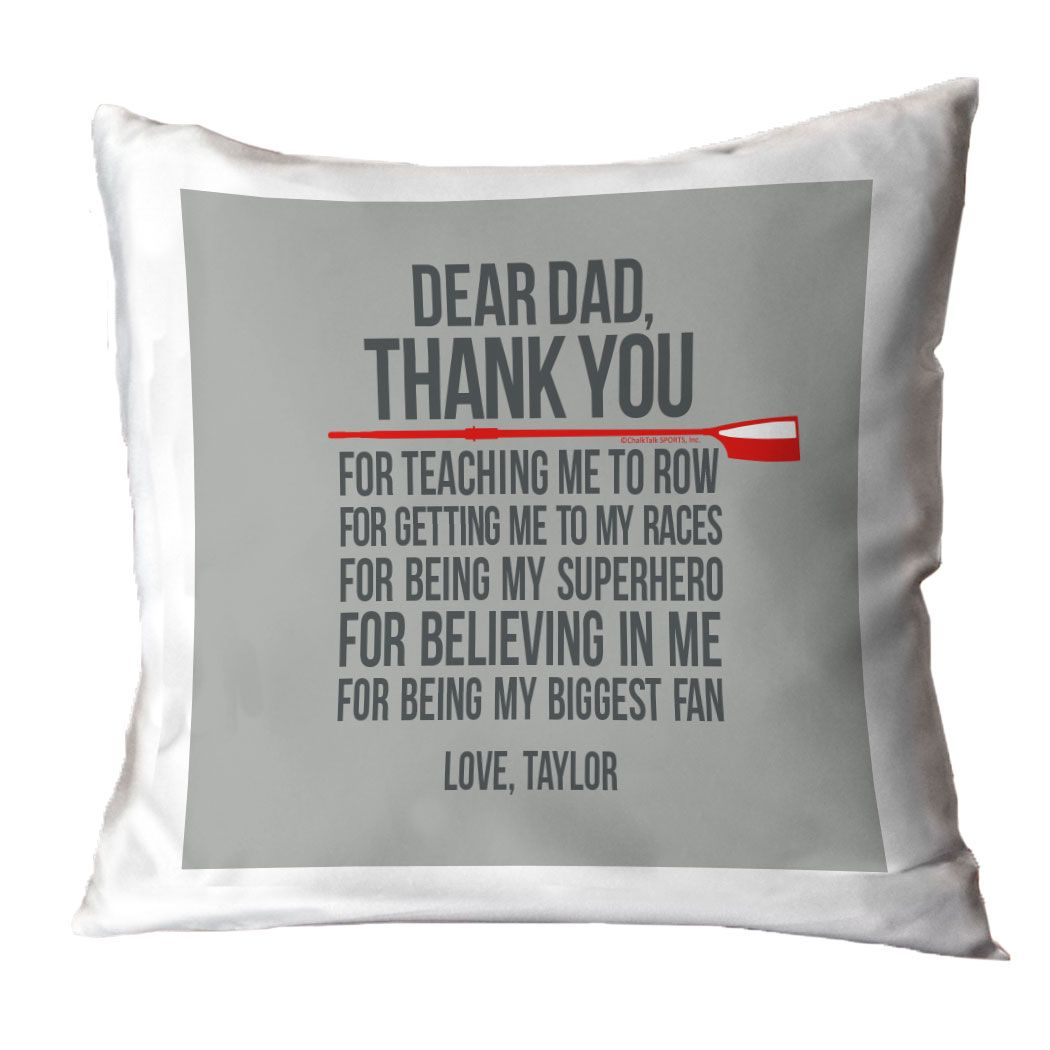 Crew Dad Pillow Dear Dad Crew Father S Day Gifts