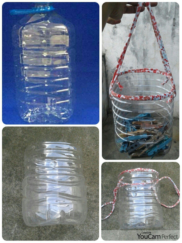 Porta Broches Con Bidon De Agua De 5 Litros Ideas Para El Hogar