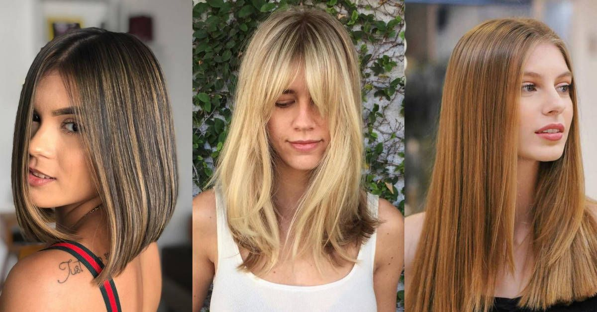10 Super Stylish Straight Hairstyles 2021 Long Medium Short In 2020 Medium Length Hair Straight Straight Hairstyles Hair Styles
