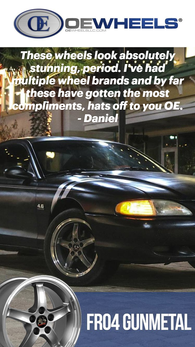 OE Wheels Customer Reviews That Fit Ford Mustangs