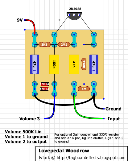electrical wiring lovepedal woodrow distortion plus wiring diagram rh pinterest com Guitar Pickup Wiring Diagrams 1 Guitar Wiring Diagrams 2 Pickups