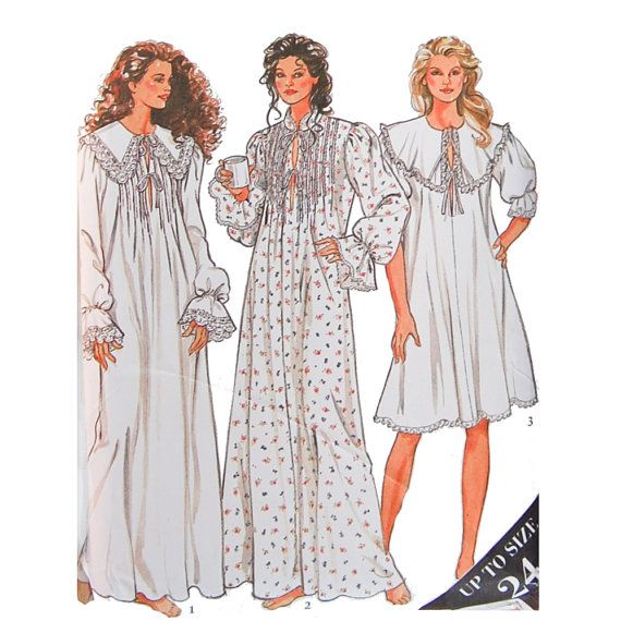 Old fashioned nightgown pattern 68