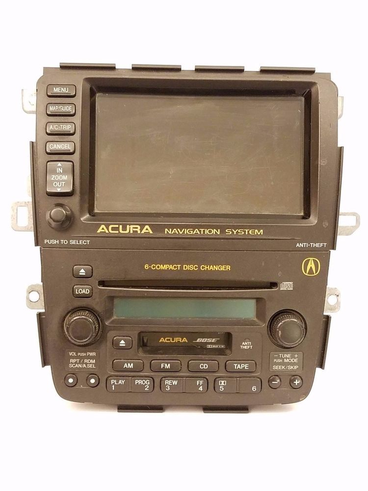 Acura MDX Navigation With Radio GPS CD Cassette OEM WUnlock - Acura mdx navigation