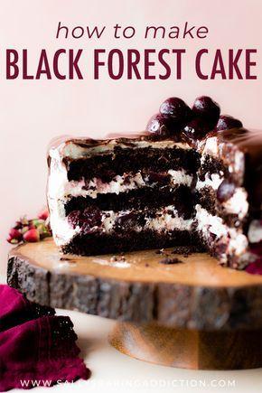 Black Forest Cake | Sally's Baking Addiction
