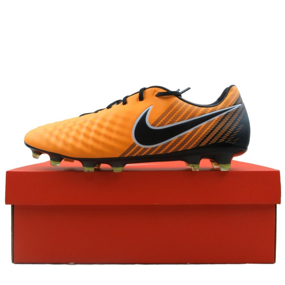 2d8041fd7d9 Nike Magista Opus II FG Soccer Cleats Size 10.5 Laser Orange Black ...