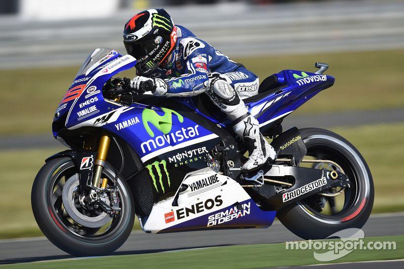 Jorge Lorenzo, Yamaha Factory Racing at Valencia GP