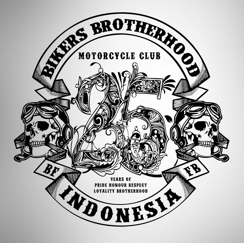 Happy 25th Anniversary Bikers Brotherhood MC Indonesia