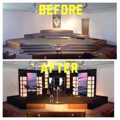 1888603_592505600833609_1464937652_n church pictureschurch stage designset - Small Church Sanctuary Design Ideas