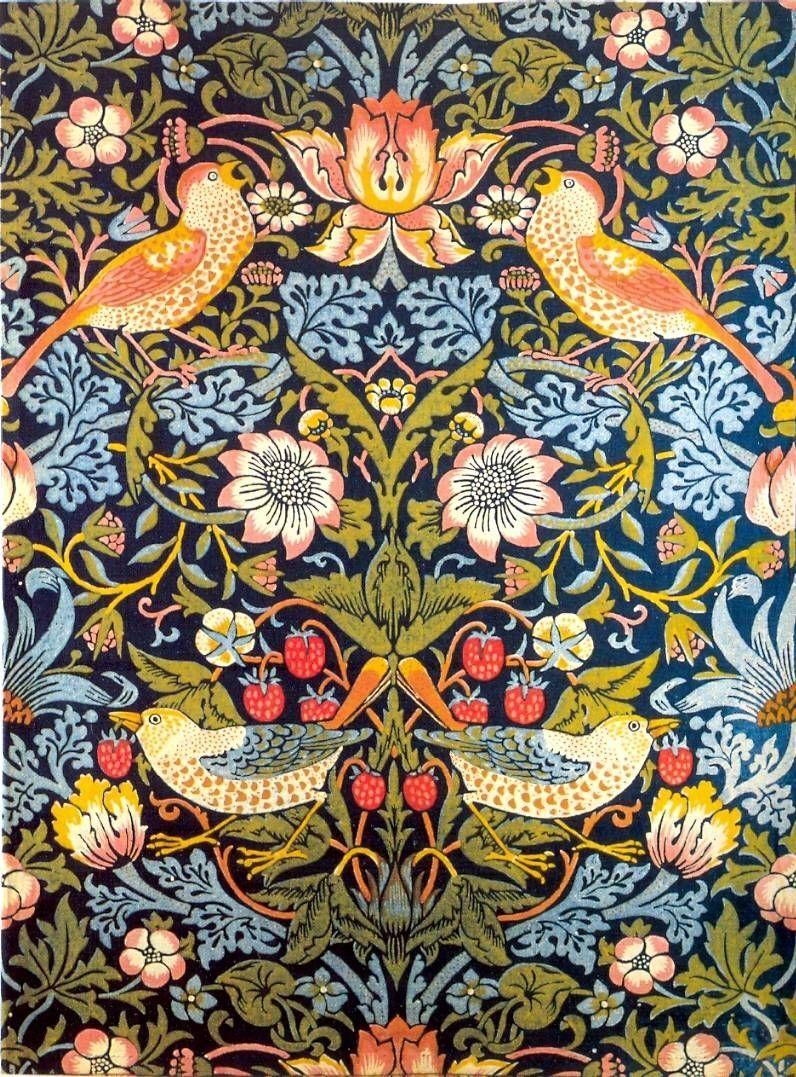 Maybesomespaghetti William Morris Pattern Tastic Pinterest