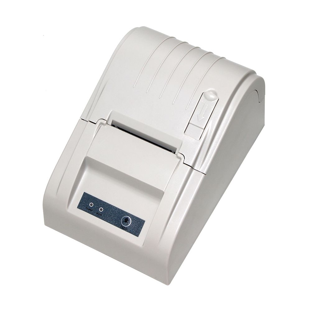 RD-5890T 58 미리메터 화이트/블랙 열 영수증 프린터, USB 인터페이스 pos 빌 열 기계 내장 전원, 열 pos 프린터