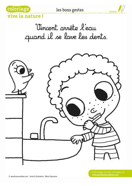 Vincent Arrete L Eau Quand Il Se Lave Les Dents Fold Napja