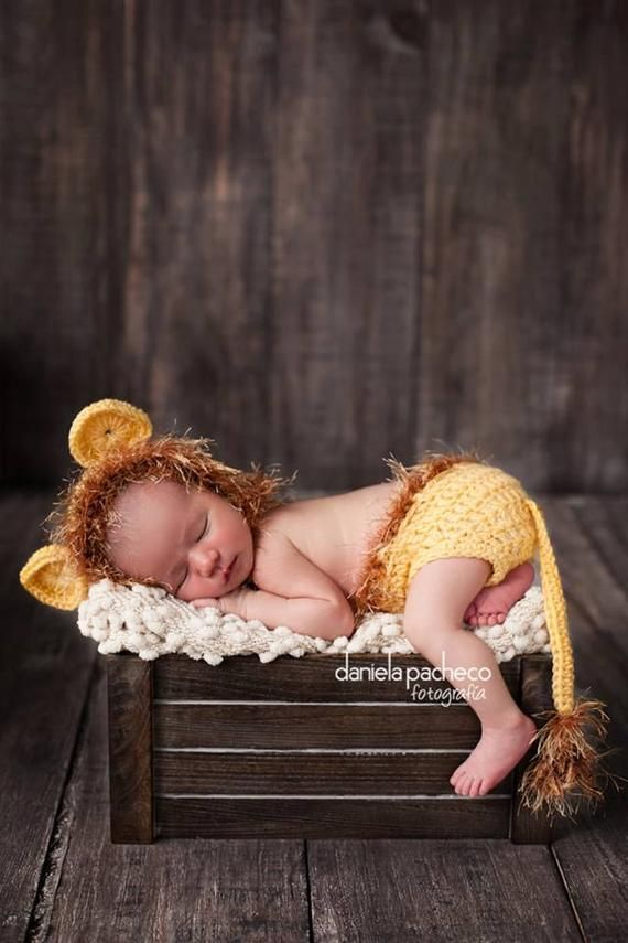 Photo of Baby Boy Hat NEWBORN LION Cub Hat CROCHET Knit Baby Boy Hat Diaper Cover available