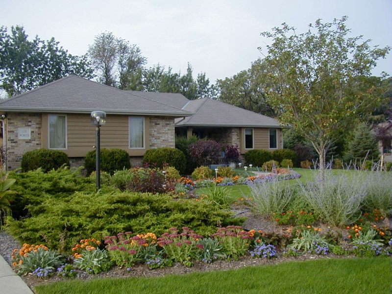 Front Yard Curb Appeal Colorado  Pictures  Ideas Www - Sloped front yard landscaping ideas
