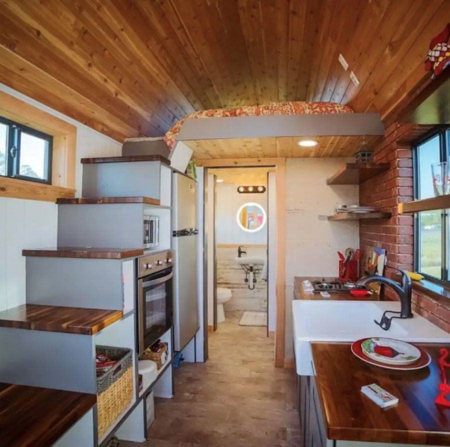 Barn Model Tiny House in Melbourne Tiny house, House