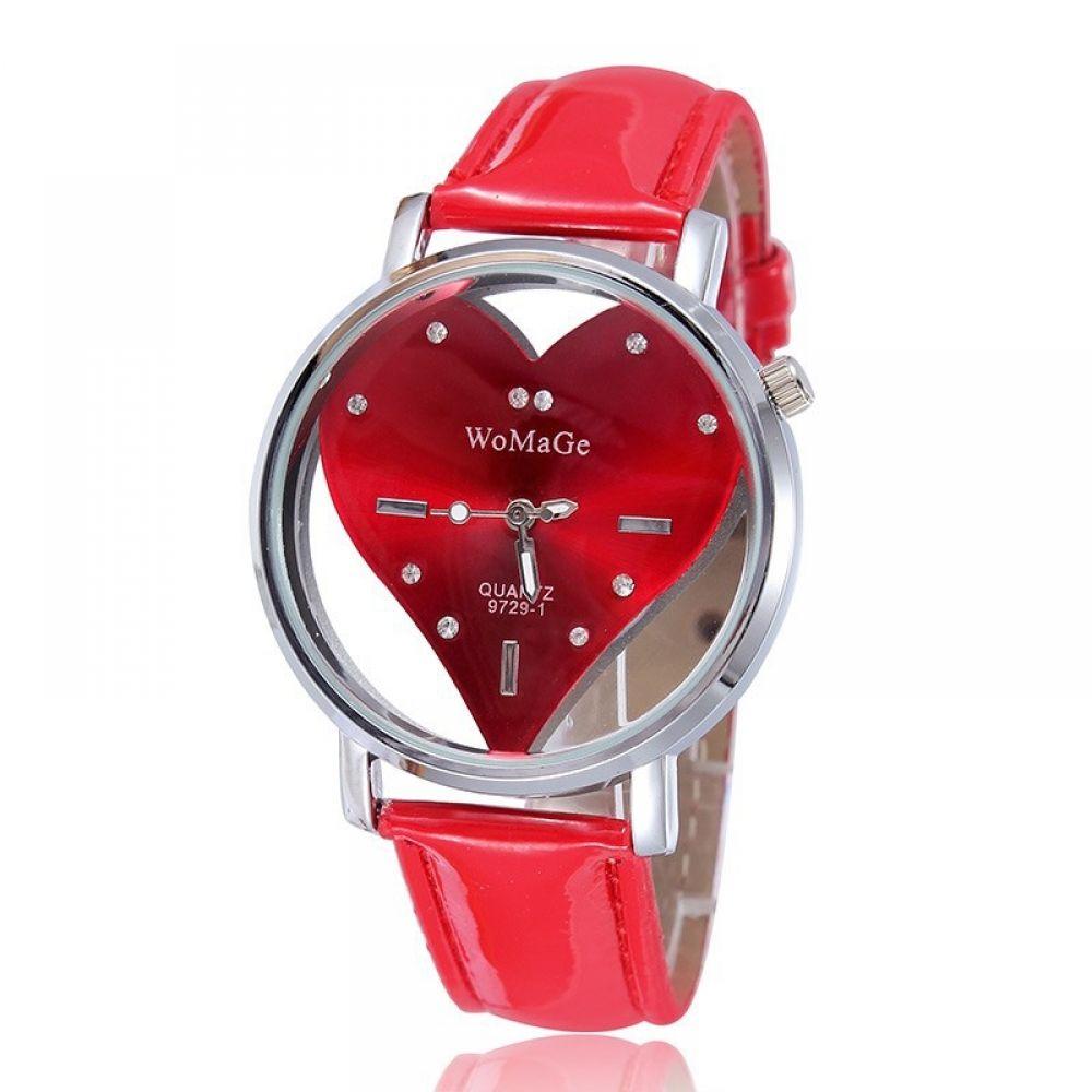 Quartz Heart Shape Wristwatch  Price: $ 25.99 & FREE Shipping