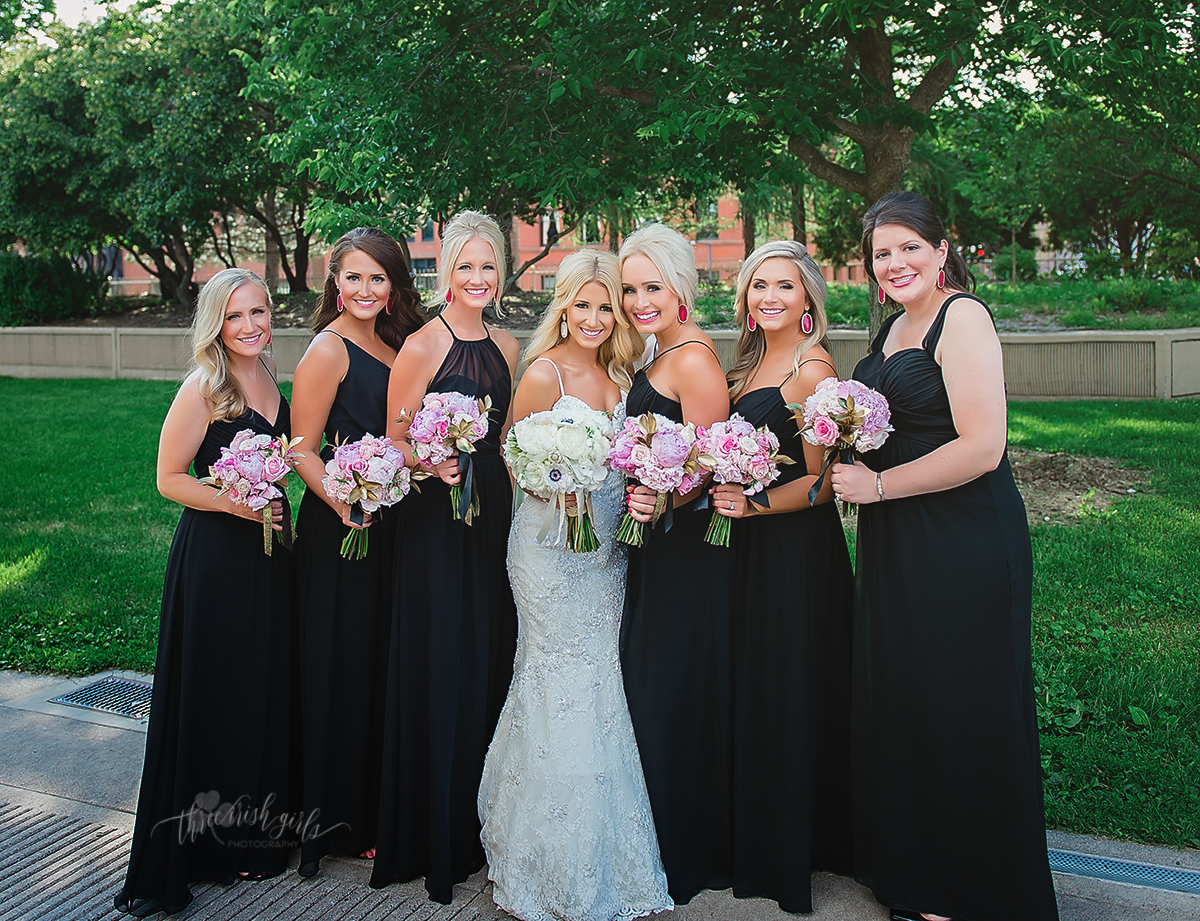 Assorted Hayley Paige Occasions Dresses In Black Chiffon Black Bridesmaids Bridesmaid Dresses Wedding