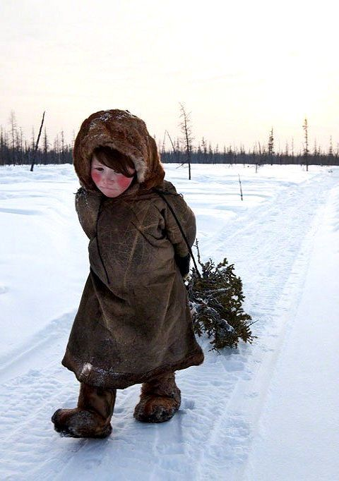 The Nenets are an indigenous tribe living in Siberia, Russia (by Alessandra Meniconzi)