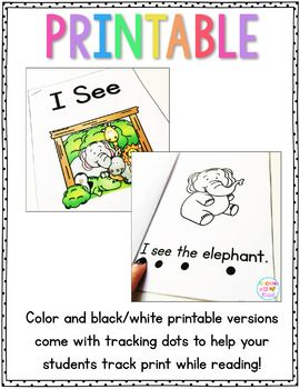 picture relating to Sight Word Books Printable titled Guided Looking through Projectable Guides, Printable People, and