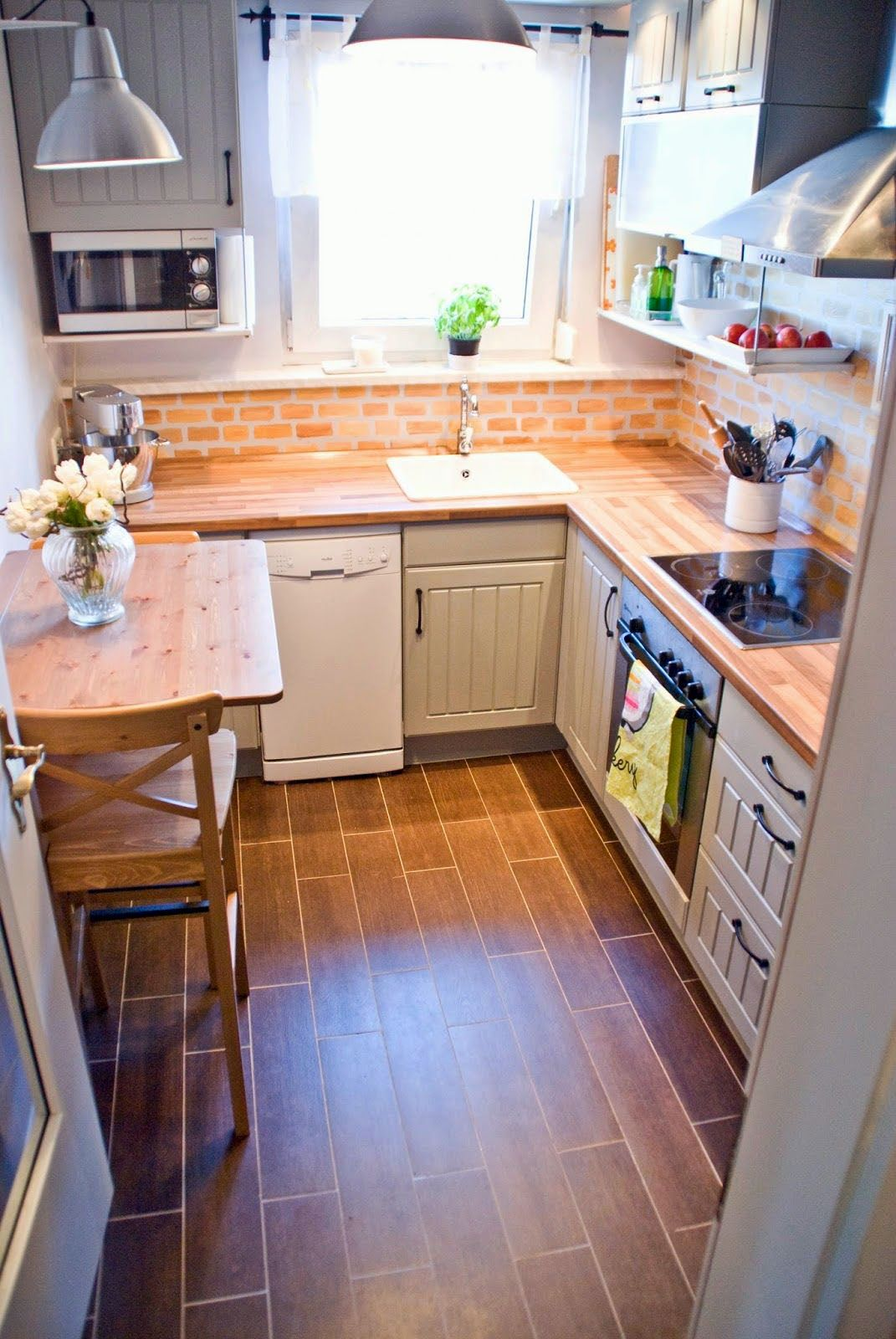 Smal kitchen ideas– to transform your portable room into a smart ...